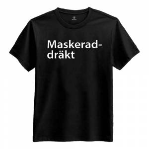 Netshirt.se Maskeraddräkt T-shirt - Small