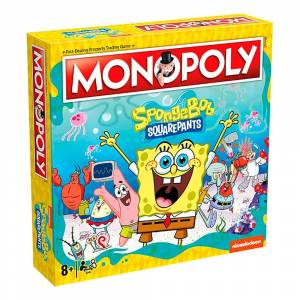 Brädspel.se / Spilbraet Monopoly Svampbob Fyrkant