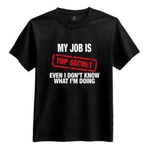 Netshirt.se Top Secret T-Shirt - Small