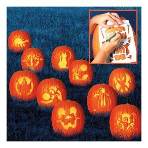 Amscan Stenciler Halloween - 10-pack