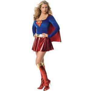 Vegaoo.se Supergirl -dräkt de luxe för vuxna - Medium (40)