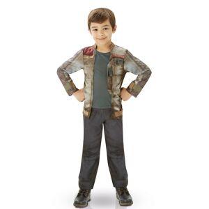 Vegaoo.se Kostym Luxe Finn - Star Wars VII barn - 117 - 128 cm (7 - 8 år)