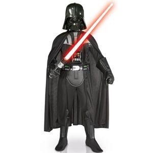 Vegaoo.se Kostym luxe Darth Vader med mask - Star Wars - 8 - 10 år (123 - 140 cm)