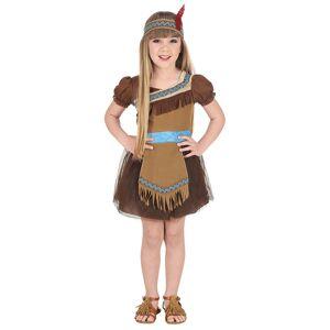 Vegaoo.se Indianen Indira barndräkt - 104 cm (2 - 3 år)