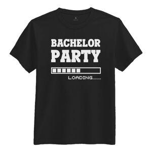 Netshirt.se Bachelor Svart T-shirt - X-Large