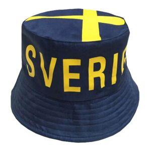 Netshirt.se Solhatt Sverige Blå - One size