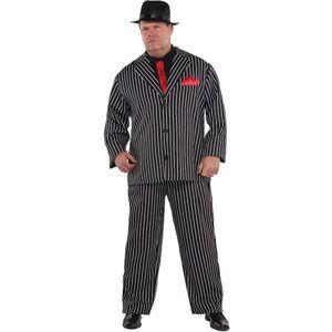 Boss Al Capone Mafia Boss Kostym - Strl XL/3XL