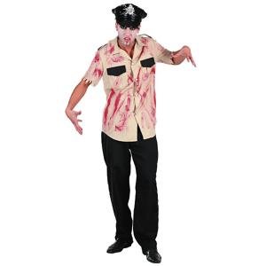 Blodig Polis Maskeraddräkt