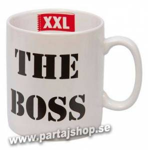 Boss The boss mugg i porslin med presentask