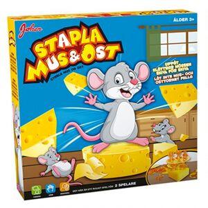 Spel - Stapla Ost & Möss