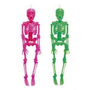 Hängande skelett rosa