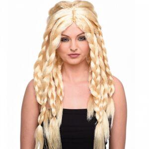 Viking warrior peruk blond