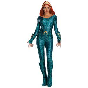 Aquaman Mera Maskeraddräkt Deluxe (Small (str. 36-38))