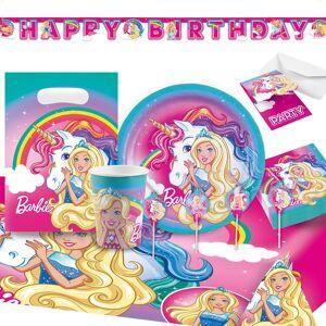 Barbie Dreamtopia Kalaspaket Deluxe 8 Pers