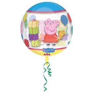 AMSCAN Greta Gris Orbz Folieballong