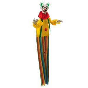 Hängande Clown Dekoration med Ljud och Ljus