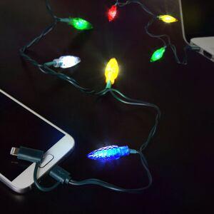 Apple Iphone Laddare med Julljus