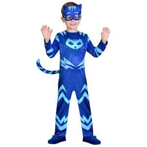 AMSCAN Kattpojken Pyjamashjältarna Maskeraddräkt Barn (Small (2-3 år))