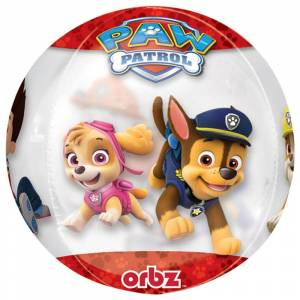 AMSCAN Paw Patrol Orbz Folieballong