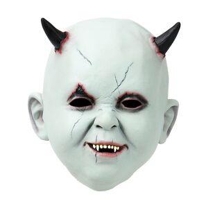 Latexmask Babyface Med Horn