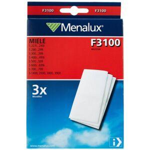 Miele MENALUX Menalux Miele F3100 suodatin, 3-pakkaus 9001963751 Replace: N/A