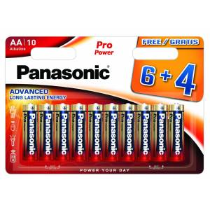 Panasonic Pro Power AA Batterier 10 Stk. Blister