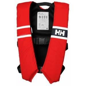 Helly hansen flytväst comfort compact, röd, 40-60kg