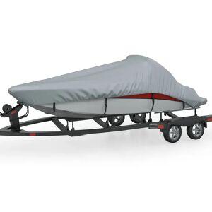 vidaXL Båtöverdrag grå 427-488 cm längd, 173 cm bredd