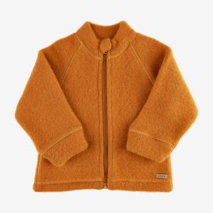 Celavi jakke i uld - Pumpkin Spice - 80