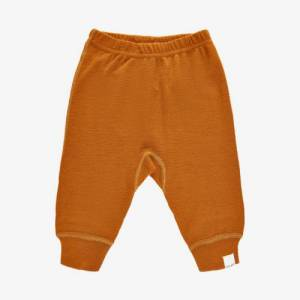 Celavi harem bukser i uld - Pumpkin Spice - 60