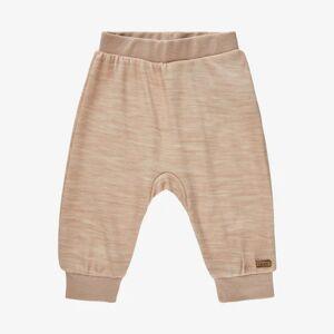 Celavi harem bukser i uld og bambus viskose - Light Taupe - 50