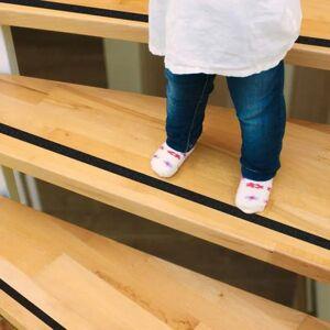 Skridsikre striber til trapper