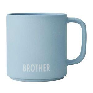 Design Letters Kop - Siblings - Favourite - Blå m. Brother