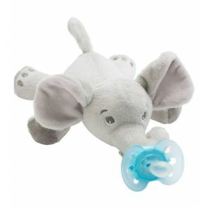 Philips Avent Sut m. Bamse - Ultra Soft - 20 cm - Elefant