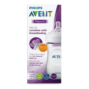 Philips Avent Tåteflaske Natural, 260ml