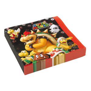 Amscan Servetter Super Mario - 20-pack