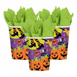 Amscan Pappersmuggar Trick or Treat  - 8-pack