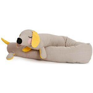 Roommate Kudde Lazy Long Dog Grå