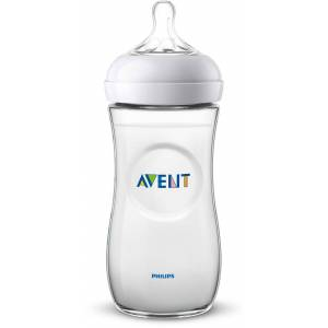 Philips Avent Natural Nappflaska 330ml inkl. Slow Flow Dinapp