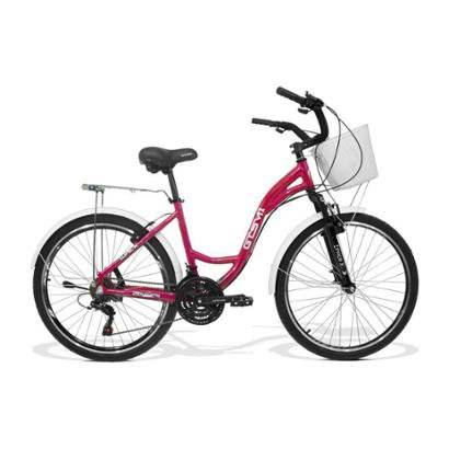 Bicicleta Feminina Gts M1 Walk Urbano Aro 26 Cmbio Shimano 21 Marchas E Freio V-Brake - Unissex