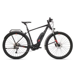 Birk Superior E-Ride Matte Black/Red, Elsykkel 2021