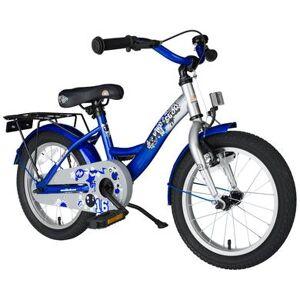 star Trademarks BIKESTAR® Premium Barncykel 16 silver/blue