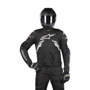 MC-Jakke Alpinestars T-GP Plus R V3 Air, Sort/Grå/Hvid