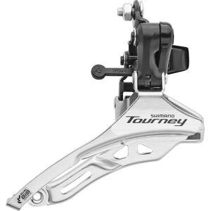 Shimano Tourney FD-TY300 Frontgir Klem høy 3x6- / 7-trinns Down Pull Svart/sølv 28,6mm 2021 Framgir til MTB