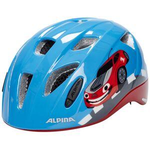 Alpina Ximo Flash Hjelm Barn Blå 49-54cm 2021 Barn- og juniorhjelmer