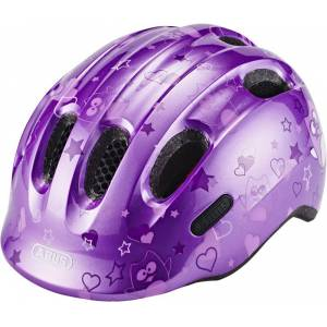 ABUS Smiley 2.0 Helmet Barn purple star S   45-50cm 2019 Barn- og juniorhjelmer