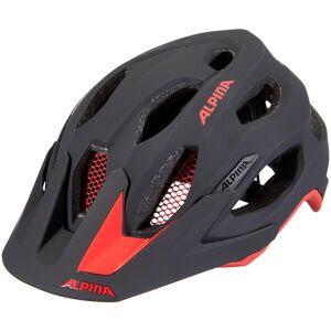 Alpina Carapax 2.0 Hjelm rød/svart 52-57cm 2021 MTB-hjelmer