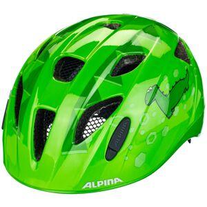 Alpina Ximo Flash Hjelm Barn Grønn 45-49cm 2021 Barn- og juniorhjelmer