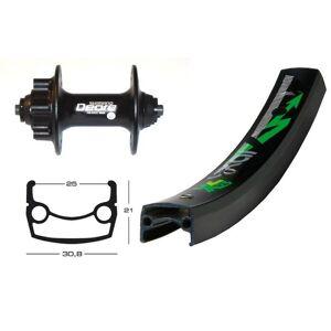Bike-Parts Bike parts 26″ wheel Exal XL 25 disc + SHIMANO DEORE 6-hole (QR)