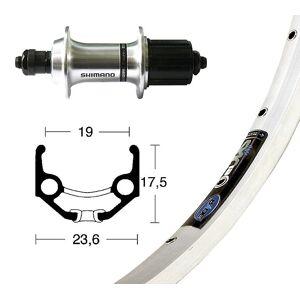 Bike-Parts Bike parts 28″ rear Rigida Zac 19 + Shimano tourney TX500 8-10-fold...